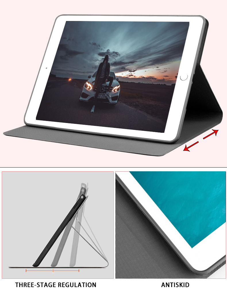Smart Case For iPad 2019 10 2 A2200 A2232 Luxury Business Silicon Leather Cover for ipad