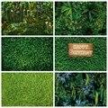Laeacco фотосессии ко дню рождения и Фоны зеленая трава стены тропические растения и листья сафари фотографии фоны для фотостудии