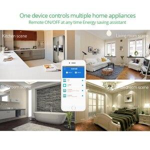Image 3 - Умный Wi Fi контроллер Sonoff Pow R2, 15 а/3500 Вт, с измерением энергопотребления в реальном времени, умное домашнее устройство