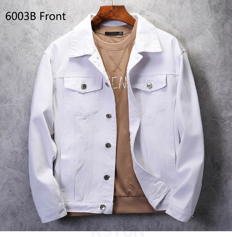 KSTUN Mens denim Jacket Jeans jackets red jean jacket regular fit Bomber Jacket cotton 2019 brand jacket men's coats Chaqueta Hombre 12