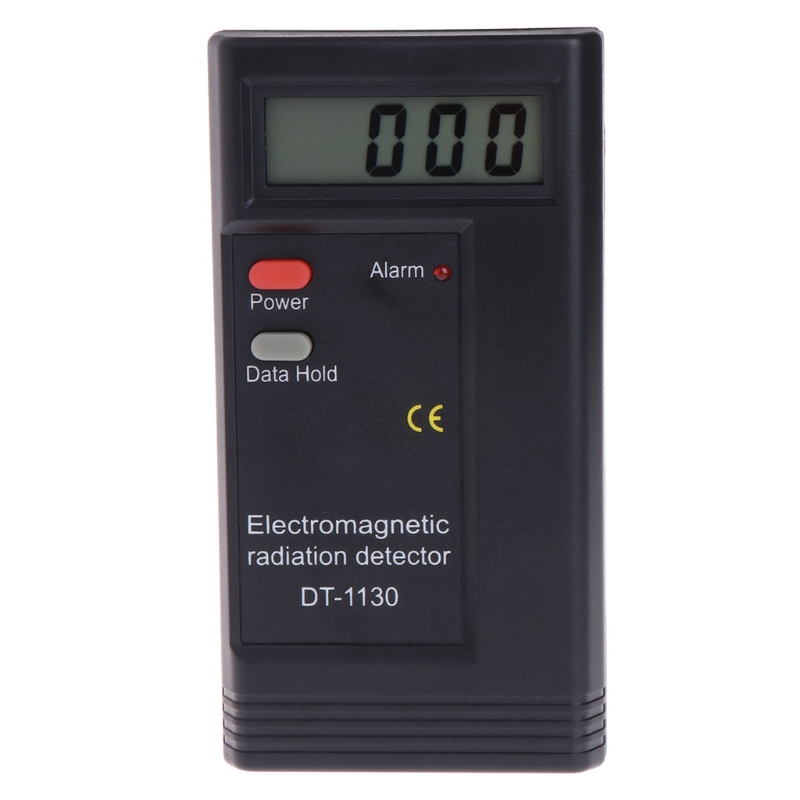 Electromagnetic Radiation Detector LCD Digital EMF Meter Dosimeter Tester DT1130 94PC|Electromagnetic Radiation Detectors| |  - title=