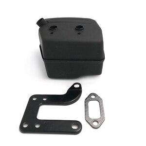 Image 4 - HUNDURE Muffler Exhuast Silent Block Bracket Gasket Kit For HUSQVARNA 268 272 272XP 272K 61 Chainsaw Parts 503535901