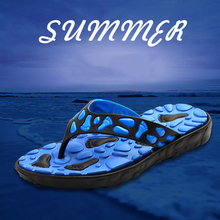 FZNYL Men's Massage Slippers Summer Outdoor Beach Fashion Sandals Male Indoor Soft Flip Flops Non-slip Casual Home Slides Shoes the new fashion woman handmade h slippers summer flip flops students beach shoes non slip soft soled indoor sandals