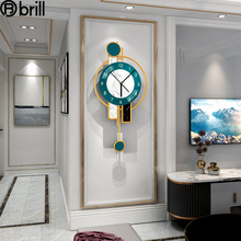 Creative Nordic Wall Clock Light Luxury Fashion Home Decoration Simple Wall Hangings Wall Watches Home Decor Horloge Murale Gift