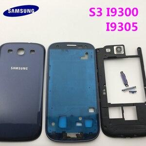 Image 5 - Części zamienne pełna obudowa pokrywa baterii + przyciski + Panel szklany do Samsung Galaxy S3 i9300 i9305 9300i + narzędzia