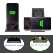 10W Wireless Charger for Samsung S10 S9 S8 Plus Note 9 8 Fast Charger for IPhone XS MAX XR Charger Wireless Charger