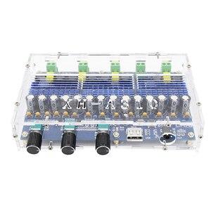 Image 3 - TDA3116D2 Bluetooth 5,0 цифровой усилитель плата четырехканальный 2*100 Вт двойной бас 2*50 Вт двойной стерео аудио усилитель с звуком тона