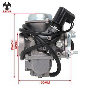 Image 4 - Carburador de motocicleta con Power Jet, para Majesty YP250 Linhai 250 Marquesa TK 250 ATV