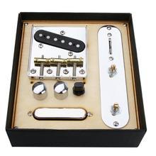 85.5x77x10.5 مللي متر الغيتار الرقبة بيك اب ث/جسر خط مجموعة أطباق ل تليكستر الغيتار الكهربائي عرض لهجة الكمال