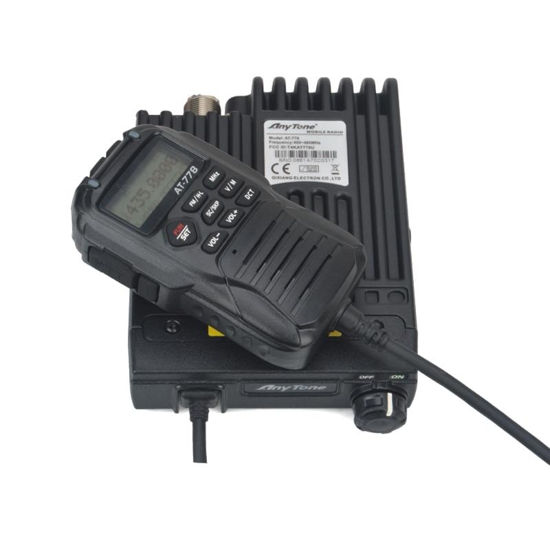 Anytone AT-778 UHF Mobile Radio 400-480MHz 25Watt 512channels Mini FM Mobile Transceiver