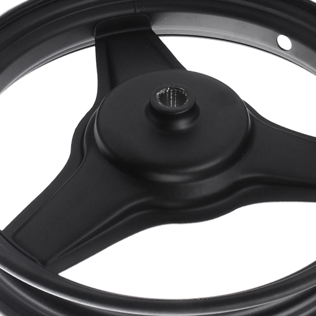 Rear Rim Wheel Replacement Part Fit for Yamaha PY50 & PW50 Motorcycle 27cm 10 inch Black