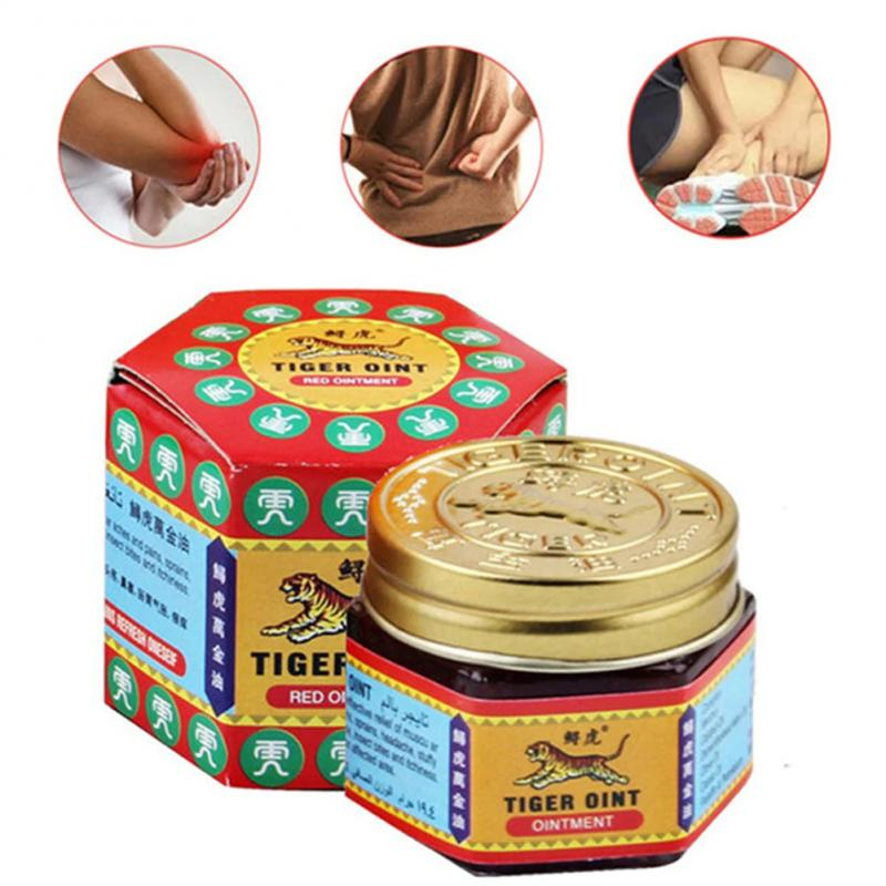 19.5g Tiger Balm Red Ointment Thailand Painkiller Ointment Muscle Pain Relief Ointment Soothe itch| | - AliExpress