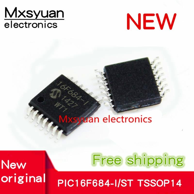 20 ~ 50 шт./лот PIC16F684-I/ST PIC16F684 16F684-I TSSOP14 Новый микроконтроллер чип