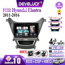 Android10.0 Radio de coche carplay GPS de navegación Multimedia reproductor de vídeo para Hyundai Elantra Avante I35 2011-2016 FM 2din estéreo DVD