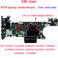 NM-A931 T470 laptop motherboard para 14.0