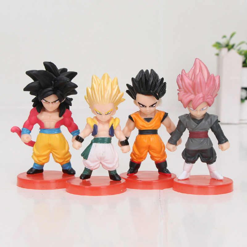 Dragon Ball Z Son Goku Gohan Piccolo Vegeta majin buu chichi DWC WCF Barduck Videl Ginyu Kuririn PVC Figuras Bulma brinquedos