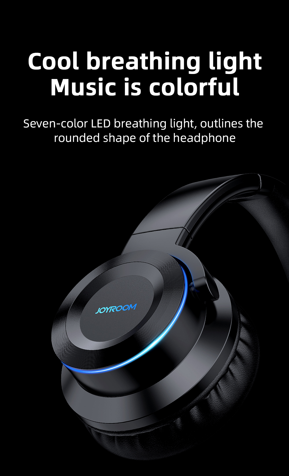 Joyroom JR-H16 Bluetooth Headphone 6