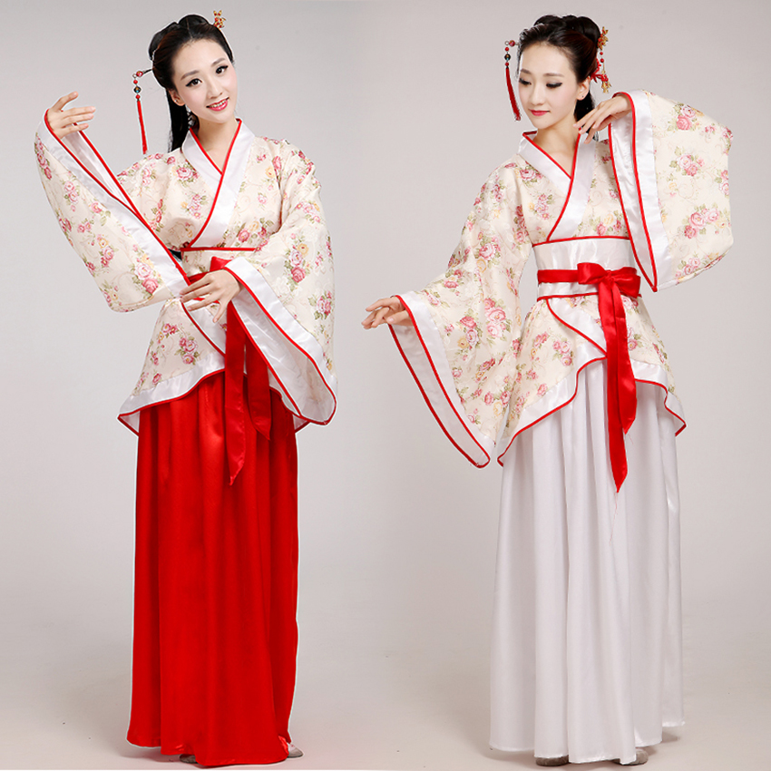 Ancient Dress Hanfu Tangsuit Traditional Chinese Clothing Dynasty Elegant Princess Style Folk Dance Costume Festival Outfits