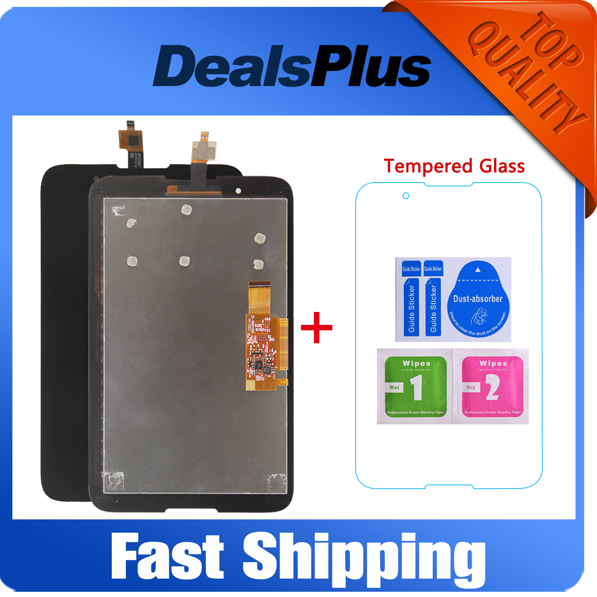 Replacement New LCD Display + Touch Screen with Frame Assembly For <font><b>Lenovo</b></font> Tab A7-30 <font><b>A3300</b></font> A3300T <font><b>A3300</b></font>-<font><b>GV</b></font> <font><b>A3300</b></font>-HV 7-inch Black image