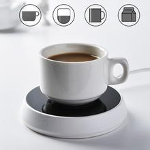 цена на Portable Electric Heating Cup Mat Drinking Water Milk Coffee Mug Heater Warmer Water Bottle Cup Accessories