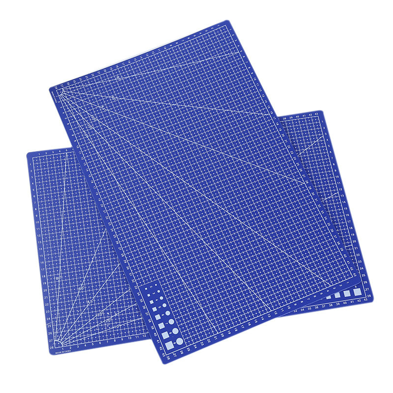 A3 PVC Cutting Mat Pad Patchwork Cut Pad DIY Tool Cutting Board Double-sided Self-healing