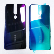 100% Original 6.5 inch For Oppo F11 Pro F11Pro CPH1969 Back Battery Cover Door Housing case Rear Glass parts