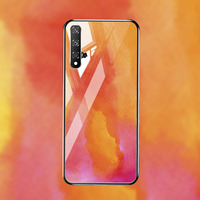 silicone case Tempered Glass Case For Huawei honor 20 8X mate 20 10 lite Cases Space Silicone Covers for Huawei mate 20 Pro 20x back cover (3)
