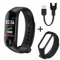 M3 Plus Smart Band Bluetooth Sport Fitness Tracker Smart Armband Gesunde Schlaf Blutdruck Herz Rate Monitor Smartband