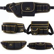 Sacos de ferramentas portátil saco de ferragem com zíper kits de reparo organizador ferramentas elétricas saco eletricistas organizador pacote cintura