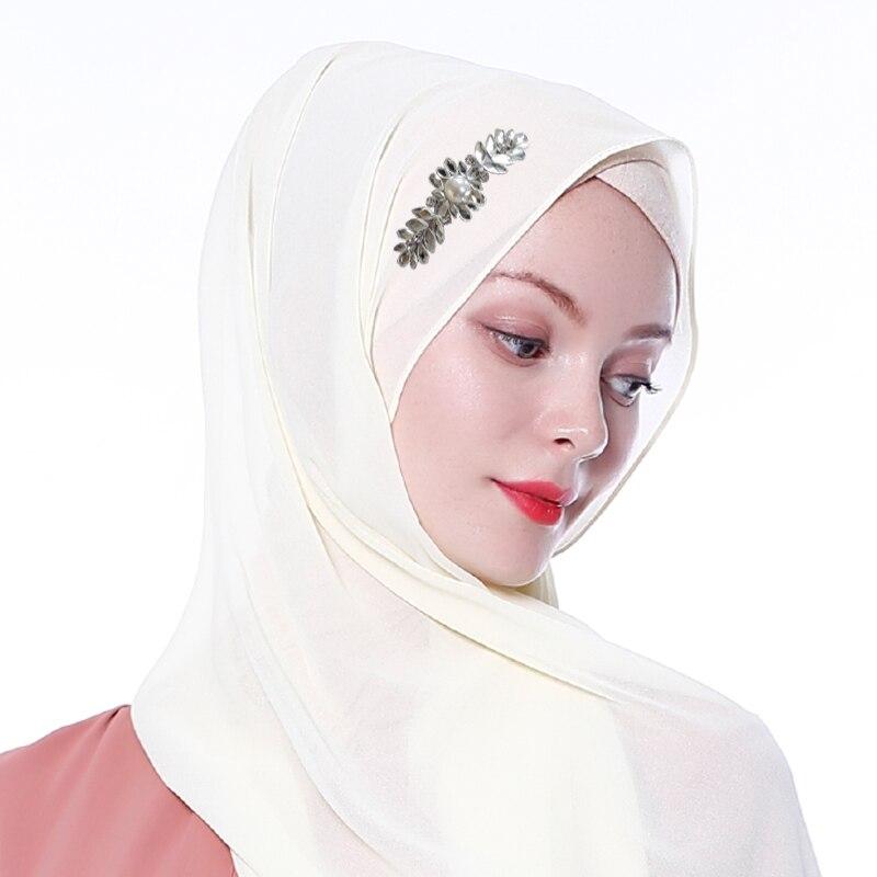 Diamonds Hijab Abaya Dubai Muslim Hijab Scarf Abayas For Women Turban Niqab Turbante Mujer Jilbab Femme Musulman Hijabs Hoofdoek