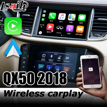 Carplay interface for Infiniti QX50 video interface box with youtube Android auto Q50 Q60 QX50 QX60 by Lsailt image