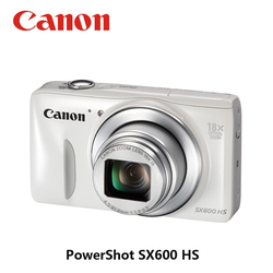 USED CANON 18x PowerShot Compact Digital Camera SX600 HS 16MP 8GB Memory Card Fully Tested