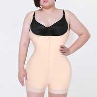 Mulher magro roupa interior uma peça bodysuit shapewear senhora underbust shapers do corpo mais tamanho cintura trainer