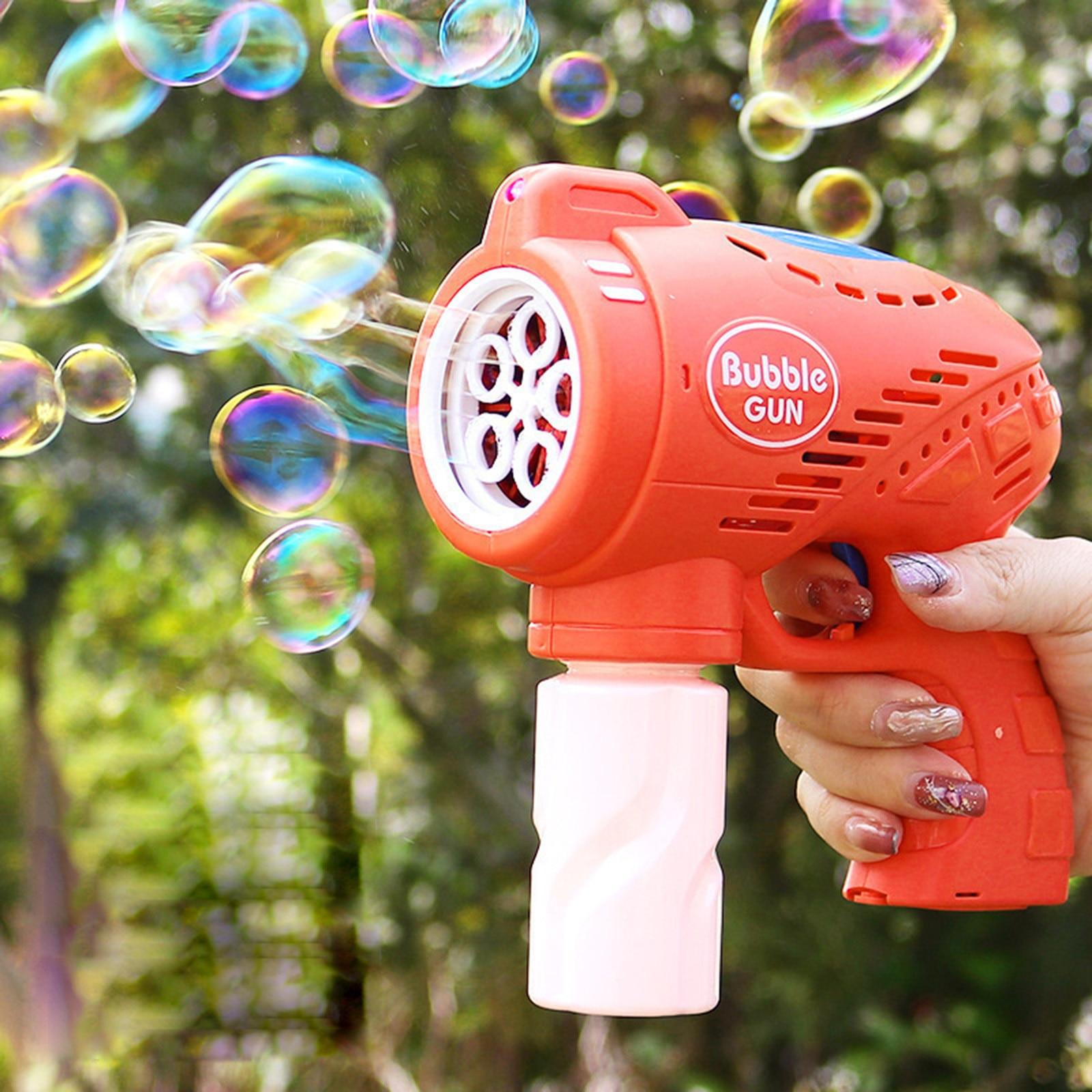 100 мл Автоматическая музыкальная пузырьковая машина Мультяшные пузырьки Игрушки Летние для детей пузырьковая машина для мыла уличные пузы...