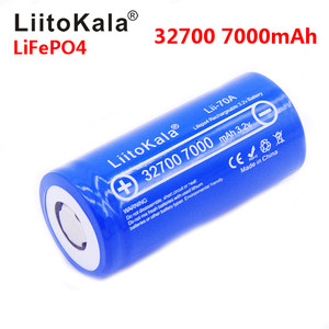 new LiitoKala Lii-70A 3.2V 32700 7000mAh LiFePO4 Battery 35A Continuous Discharge Maximum 55A High power Brand battery