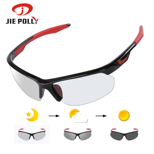 Image 1 - Photochromic Cycling Sunglasses TR90 도로 자전거 안경 3 in 1 렌즈 전천후 안경 mountain Skidproof 안경 남성 여성