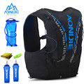 Рюкзак AONIJIE C962 12 л с гидратацией, улучшенная кожаная сумка, жилет, мягкий водный Пузырь, колба, профессиональная сумка для бега, 2 шт., 500 мл