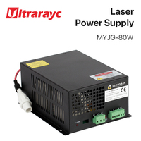 Ultrarayc 80W CO2 Laser Power Supply for CO2 Laser Engraving Cutting Machine MYJG 80W