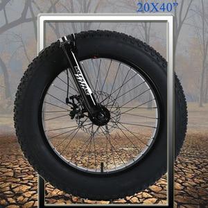 """Image 5 - Sói Phương Xe Đạp 20 """"X 4.0 Xe Đạp 21 Tốc Độ Xe Đạp Đường Bộ Mỡ Xe Đạp Tốc Độ Biến Đổi Xe Đạp phanh Đĩa Cơ"""