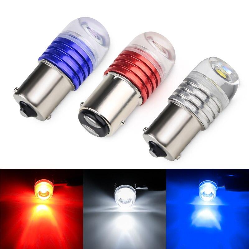 2 шт. 1156 1157 Bay15d p21 Стробоскопическая Лампа для автомобилей 1157 Красный Cob светодиодный стоп сигнал 12v указатель поворота светильник лампы дневного сигнала красный bulbs for car bulb ledbulb p21/5w   АлиЭкспресс