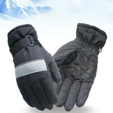 Practical Waterproof Skiing Gloves Winter Outdoor snowboard Running Riding Sports Durable Full-Finger Thermal
