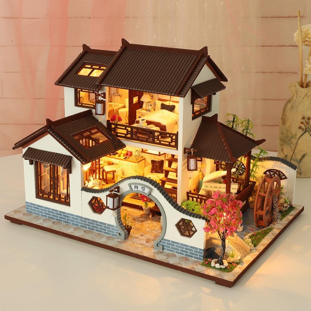 H9e34eefaf4754b03a1feb35372da9ae0u - Robotime - DIY Models, DIY Miniature Houses, 3d Wooden Puzzle