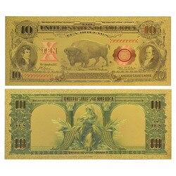WR USD Prop Money 1901 года, США 10, искусственные банкноты, невалютные банкноты, украшение для дома, подарок