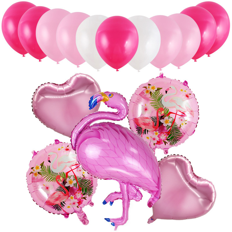 Birthday Party Wedding Confession Atmosphere Marriage House Decoration Decorative Balloon Wholesale Wedding Party Flamingo Ballo