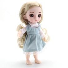 Модная Кукла, умная девочка, принцесса, игрушка, мульти-шарнир, мини-моделирование, игрушка, 3D кукла, тепло, мягкое тело, подарок для девочки, игрушка