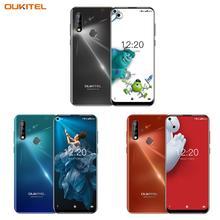 Oukitel C17プロデュアル4 3gアンドロイド9.0スマートフォン指紋id携帯電話6.35 4ギガバイト64ギガバイト19:9携帯電話オクタコア3900mah