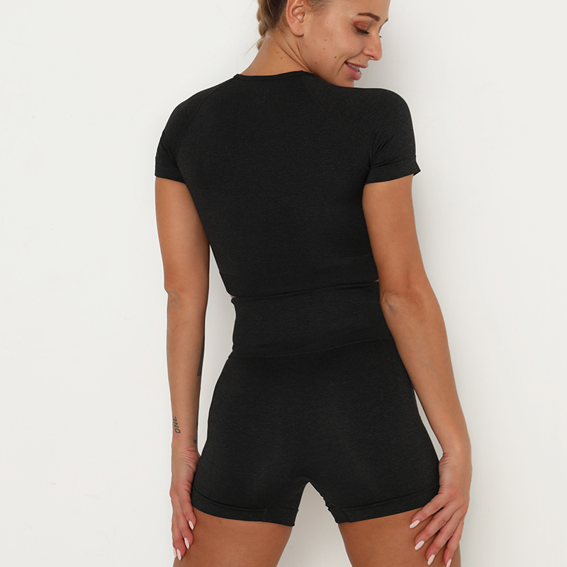 H9e3572981bd7411badaacebc04f1d69du Kaminsky 14 Colors High Waist Seamless Leggings For Women Solid Push Up Leggins Athletic Sweat Pants Sportswear Fitness Leggings