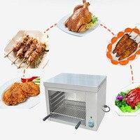 Jamielin Commercial Electric Grills Electric Griddle Desktop Food Furnace Salamander Toaster Cooking Appliance 2000w 220v