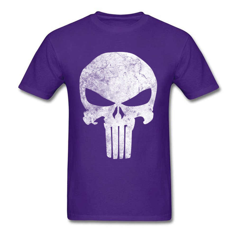 Terbaru Pria T-shirt Punisher Tengkorak Grunge Cetak T Shirt TV Film Permainan Katun Lengan Pendek Cetak Pada Tee-Shirt gratis Pengiriman