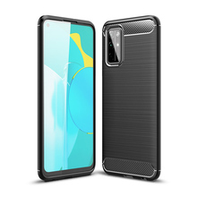 pro stp 30s Soft Carbon Fiber Case For Huawei Honor 30S 30 Pro Cover Housings Protective Fitted Phone Bumper For Huawei Honor 30S 30 Case